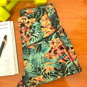 ❤️Old Navy Tropical Cropped Leggings